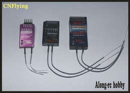 Receptor de canal rc on-line-Navio livre RC parte do avião 2.4G 6 canal R6008HV 8CH canal R7008HV recivers Compatível FUTABA FASST Receiver