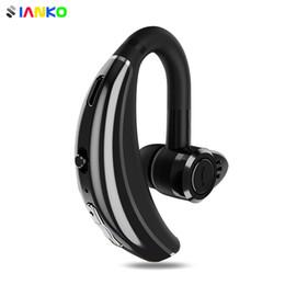 Q8 IPX6 A prueba de agua Bluetooth Auricular Gancho para la oreja Auricular inalámbrico CSR Chip HD Mic Cancelación de ruido Auriculares deportivos personalizados para hombres de negocios desde fabricantes
