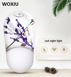 WOXIU luci notturne a led novely sensore di illuminazione decorazione casa parete corridoio camera da letto soggiorno negozio ristorante pub da