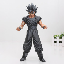 old new toys Promo Codes - Action 26cm Dragon Ball Z Super Saiyan Son Goku Vegeta Gohan Msp Master Stars Piece Goku Black Chocolate Pvc Action Figure Toy