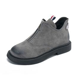 Bottines en cuir pour femmes, femmes, vintage, retro, fait main, rivets, bottes moto, chaussures, chaussures, 2018, bottes plates zippées ? partir de fabricateur