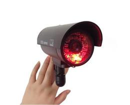 Sicherheitskugel online-LED IR Dummy Kamera / Gefälschte Kamera Innen für Home Security CCTV System Infrarot / CCTV Wireless / Bullet Kamera LLFA