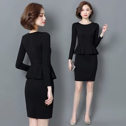 Wholesale Beauty Salon Wear - Professional dress in autumn and winter, the new style, the buttocks and the beauty salon, two professional suits