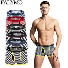 62337b975c Mens Underwear Sexy Striped Cotton Boxer Shorts Men Fringe Underpants  Breathable Soft Male Panties Boxershorts Boy Panty Homme