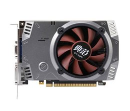 Tarjetas gráficas de 64 bits online-Onda NVIDIA GeForce GT 730 GPU 2 GB 64 bit 2048MB Gaming DDR5 PCI-E 2.0 Tarjeta gráfica de video Puerto DVI + HDMI + VGA con un ventilador