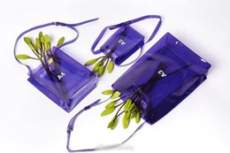 Wholesale pool open - ins Purple PVC Transparent Bag Portable One-shoulder Bag For The Swimming Pool Beach Bath Bag Travel Tote Wash Storage Swmming Handbags