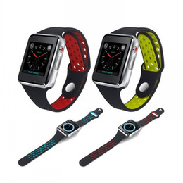 Reloj capacitivo online-M3 reloj de pulsera inteligente con 1.54 pulgadas LCD capacitiva pantalla táctil Smartwatch SIM ranura para tarjeta de la cámara para teléfonos Android Relojes