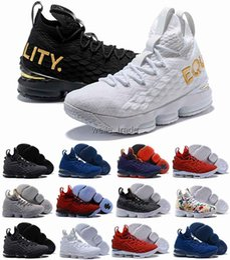 finest selection 8988d 8f9e8 nike air lebron james 2018 NEUE Designer Schuhe 15 Basketball Schuhe für  Mode 15s Gleichheit BHM Graffiti Herren Sportschuhe MVP Training Turnschuhe  Asche ...