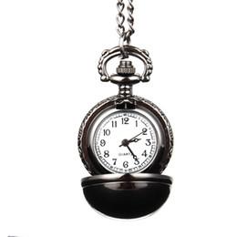 Wholesale Snitch Pocket Watch - Elegant Snitch Quartz Fob Pocket Watch With Sweater Necklace Chain Jewelry Gifts LXH