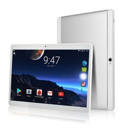 Sim бесплатные таблетки онлайн-Free shipping 10 inch Octa Core Tablet PC Android 7.0 4GB+32GB Dual Camera SIM FM GPS Bluetooth 3G 4G LTE Phone tablets 10.1