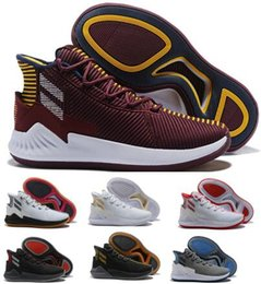 d rose new shoes Coupons - New D Rose 9 Air Basketball Shoes Mens Man Purple Derrick Rose 9s Designer Runners 2018 Fashion Classis Sport Boots Training Sneaker Shoe