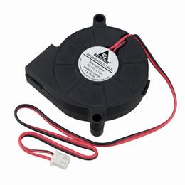 центробежные вентиляторы 12v Скидка Вентиляторы для охлаждения Gdstime 2 шт. 5см Вентилятор центробежного вентилятора 50мм x 15мм DC 12V 5015 Корпус для компьютера Процессор охлаждения