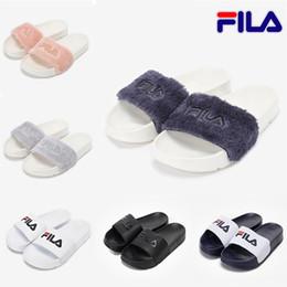 wärmsten schuhe für männer Rabatt Neueste fila pelz marke disruptor2  sandale hausschuhe männer frauen winter sandalen 01e37c00d3