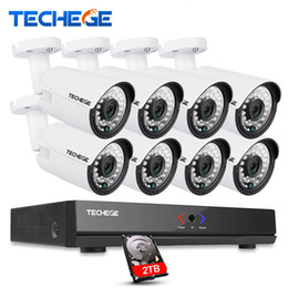 Wholesale Hdmi 8ch - 8CH 1080P HDMI POE NVR CCTV System 960P Outdoor Waterproof IP Camera Home Security Surveillance Kit P2P Motion Detection