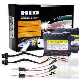 Wholesale Hid Xenon 55w Kit H11 - DC 12V 35W 55W XENON HID CONVERSION KIT Can-Bus ERROR FREE H3 H1 H4 H7 H11 H13 9004 9004 90076000K8000K With Metal Based