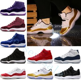 e77638b42 Cheap New 11 11s Gym Red Chicago Midnight Navy WIN LIKE 82 96 Basketball  Shoes For Men Best Quality Sneakers WOMEN University Navy Gum Blue