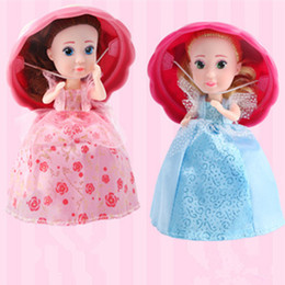 Wholesale Princess Presents - Surprise Cupcake Princess Doll Deformation Dolls Girl Beautiful Cute Toy Birthday Present More Than Three Years Old 9.7 * 16 cm