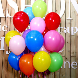 Wholesale Latex G - Colorful Balloons 12 Inch Pearl Color Latex Balloons 2.8 g Birthday Decorations Party Ballon Decoration Factory Wholesale Drop Shipping