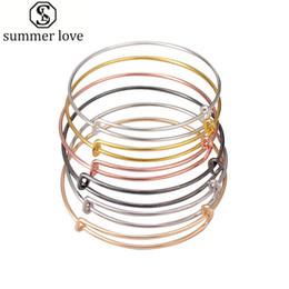 50 pçslote prata cor de ouro charme pulseira expansível pulseira fio preto ajustável pulseira para as mulheres diy fazer jóias de