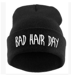16d80fa4c2a Bad hair day beanies arm Winter Hat For Women Knitted Womens Caps Girls Fox  Pattern Hats Female Fashion Caps Ladies Knit Cap Skullies