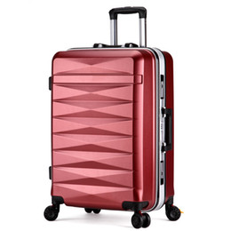 Lcslj 24 inch Suitcase Small Fresh College Student Trolley Universal Wheel Suitcase Color : Blue
