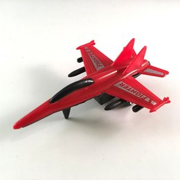 Wholesale Military Aircraft Toys - Hot Sale - Children's Cool Aviation Military Model Boys and Girls Pull Back Combat Aircraft Plastic Fighter Inertia Toy