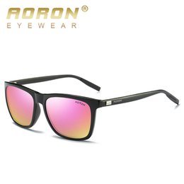 ece0dd7022 Gafas de sol polarizadas TAC lens AL-Mg Alloy UV400 para hombres y mujeres.