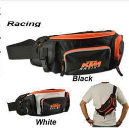 Wholesale Waist Pack Motorcycle - KTM waist pack messenger bag motorcycle chest pack multifunctional ride bag bicycle waist pack leg bag for motorcycle re