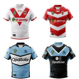 Wholesale product listings - ST GEORGE DRAGONS 2018 HOME JERSEY size S--3XL New products are listed, top quality , free delivery. 2018 SOUTH SYDNEY RABBITOHS rugby