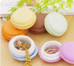 Mini-box für süßigkeiten online-Großhandel geschenke box Cute Candy Farbe Macaron Mini Kosmetische Schmuck Aufbewahrungsbox Schmuckschatulle Fall Geburtstagsgeschenk Display