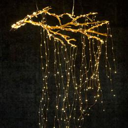 reti di albero Sconti 280 LED Luci a filo ramo di rame Spina US US 20 LED 14 corde Luci stellate Luci a filo di rame Luci stellate a LED