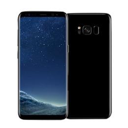 Wholesale Nano Wifi - goophone S8 android 7.0 cell phone unlocked MTK6592 Octa core fake 4G RAM 64G ROM shown 4G LTE 2560x1440 GPS 3G smartphone