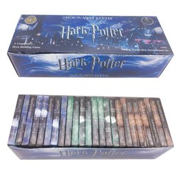 Wholesale Board Settings - Harry Potter Cards Game Toys 408 pieces set Funny Board Games Magic Cards Games Collection Toys For Children kids toys LA758
