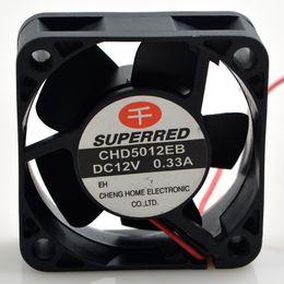 2019 ventilador superred 12v SUPERRED 12V 0.33A CHD5012EB 5CM 5020 2line 50 * 50 * 20mm ventilador de enfriamiento ventilador superred 12v baratos