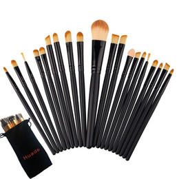 Wholesale Free Beauty Bag - Can be mixed wholesale 20 Pcs Professional Makeup Brushes Set Makeup Brushes Kit Free Draw String Make Up Bag Beauty + Bag shipping
