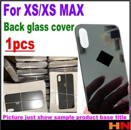 1pcs de haute qualité pour iPhone XS XS max arrière couvercle de la batterie arrière boîtier en verre boîtier réparation pièces de rechange ? partir de fabricateur