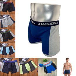 Wholesale Hot Men Underpants - Fashion Men Boxers Pure Cotton Breathable Underwears Top Brand Mens Short Underpant For Boys Casual Sports Underpants Hot Free DHL 631