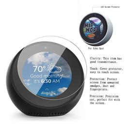 Argentina 2pcs de alta definición Full LED Protector de pantalla Anti-Scratch Cover Glare película reductora para Amazon Echo Spot Suministro