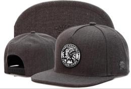 Wholesale Cheap Streetwear - Grey Men Cayler & Sons Snapback Hats Cheap Adjustable Hats Cool Best Street Hats Hip Hop Caps Streetwear 2018 TYMY 735