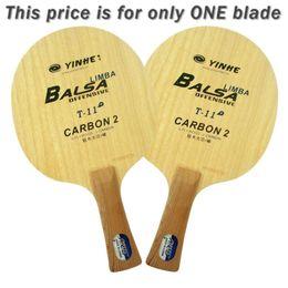 Via Lattea Galaxy Yinhe T-11 + T 11+ T11 + Limba Balsa OFF Ping-pong Lama per racchetta PingPong cheap yinhe table tennis blades da yinhe pale da tennis da tavolo fornitori