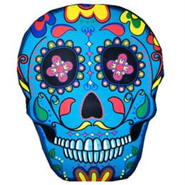 Skull Emoji Summer Beach Asciugamano in poliestere Hippy Boho Tappetino da bagno Playa Scialle Viaggi Picnic Coperta Biancheria da letto Tappeto Serviette De Plage da tovagliolo compresso di natale fornitori