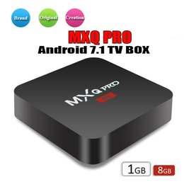 Vendita quadri online-Factory Sale OEM MX2 MXQ PRO 4K RK3229 Quad Core Android 7.1 TV BOX con lettore multimediale 17.5 4K personalizzato