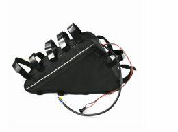 Мешок батареи электрический велосипед онлайн-Отсутствие таможенного сбора 48V 15.6 AH батарея лития мешка треугольника блока батарей ebike E-велосипеда для электрического велосипеда и электрического набора велосипеда включая заряжатель