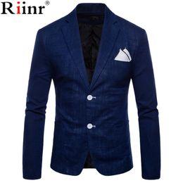 Wholesale Pure Flow - 2018 Spring and Autumn Large Size Men's Casual Flow of Pure Color Blazers Men High Quality Gentleman Men Slim Casual White Suit