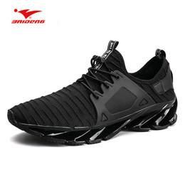 Zapatillas para correr Baideng para hombres Zapatillas Springblade de calidad superior Zapatillas para hombres con amortiguación ligera Deporte respirable al aire libre desde fabricantes