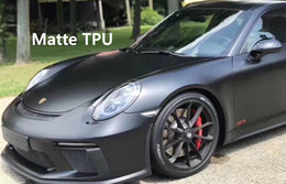 Wholesale high quality stickers - Self healing Matte TPU paint protection film For Car   Anti dirt high quality PPF Like Suntek quality SIZE:1.52*15m ( 5x49ft roll)