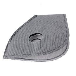 filtro de ar de carbono por atacado Desconto Atacado-PM2.5 Máscara Filtro 5pc / lot Ativar Máscaras de ciclismo de carbono Acessórios À Prova de Poeira Proteção Facial Poluição do Ar Máscara de Smog Filtro