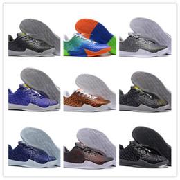 buy popular bf732 a6abd 2018 plus récent kobe 11 mentalité 3 sports chaussures de basket-ball de  haute qualité KB 11s 3M frêne violet bleu entraînement baskets taille 40-46