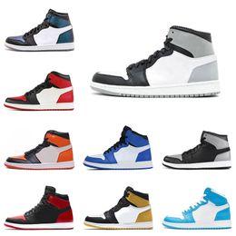 sports shoes e65d6 6aa65 Nike air jordan 1 1s Nuove scarpe da basket da uomo 1 Shattered Backboard 5  MVP Game Royal Homage To Home 1 scarpe da ginnastica da uomo sneaker scarpe  ...