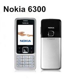 Wholesale gsm red - Original Nokia 6300 Bar 2.0 inch Screen 2G GSM Mobile Phone 2MP Camera Multi Language Bluetooth FM MP3 refurbished phone